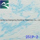 Tuiles de plafond de gypse stratifiées par PVC