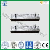 Ánodo de aluminio sacrificatorio de la alta calidad