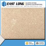 Bancada da pedra de quartzo da alta qualidade/parte superior de tabela coloridas de quartzo corte do costume