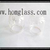 Cortina de la cubierta de cristal/de lámpara de Borosilicate para la lámpara y la linterna