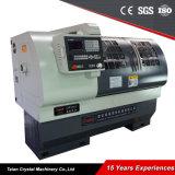 Máquina horizontal do torno do CNC do eixo de Ck6136A GSK única