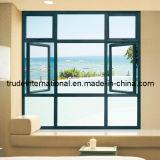 Ventana de desplazamiento de aluminio/ventana de aluminio esmaltada doble/ventana de aluminio de la alta calidad