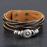 De Armband van het Leer van de Juwelen van de Manier van de Juwelen van het leer (LB170)