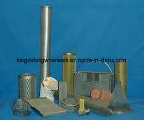Tubi filtranti tessuti della rete metallica dell'acciaio inossidabile