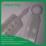 처분할 수 있는 Sterile Irrigation 또는 Plastic Material를 가진 Douche Syringe