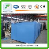 espejos de 2-6m m/espejos del espejo de cristal/de los muebles con la parte posterior revestida y del azul simple o doble de aluminio