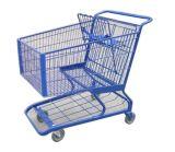 Amerika-Art- Supermärkte EinkaufsgriffTrolley Handcart