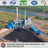 Construction industrielle de bâti lourd de structure métallique avec la rampe