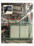 나선형 압력 관 압출기 기계장치 내미는 선이 HDPE 물 하수구에 의하여/폐수 배수장치 관은 윤곽을 그렸다