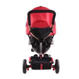 Китайские изготовления Trike 3 резиновый малыша Trike колес с регулируемой сенью