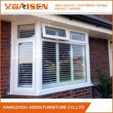 2016 Blanco Obturadores de la plantación de madera modernos para la ventana