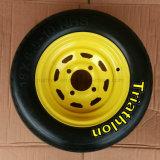 16X4.00-8 3.50-8 3.00-8 6.50-8 roda de borracha contínua de 8.50-8 Wheelbarrow