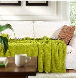 Cobertor macio de Sherpa dos lados do cobertor Sr-B170212-26 dois da alta qualidade