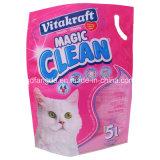 Sachet en plastique comique pour la litière du chat