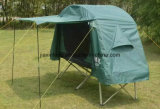 Barraca ao ar livre da base de acampamento da camada dobro