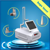 Laser van Co2 van de Apparatuur van de Salon van de Schoonheid van het Gebruik van de kliniek de Draagbare Verwaarloosbare