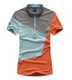 Vêtement coloré de épissure unisexe de forme physique de Lycra