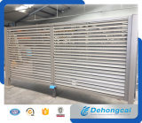 Puerta residencial práctica económica hermosa del hierro labrado del estilo de Europen (dhgate-3)