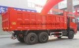 380 scaricatore dell'HP 25t 6X4 25 tonnellate del ribaltatore di camion resistente del deposito