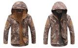 공장 옥외 방풍 물 증거 기능 고품질 육군 위장 남자의 한 벌의 재킷