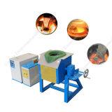 Het Verwarmen van de Inductie van het Aluminium van het Staal van het Koper van het ijzer Elektro Smeltende Oven 70kw
