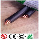 Câble de commande de câble d'alimentation de jupe de PVC d'isolation de XLPE