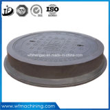 GGG50 Hierro fundido dúctil 500-7 fundición de hierro de fundición en arena Tapas de Registro
