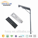 Alta Eficiência Smart Integrated Solar LED Street Light compradores de ouro na China exportadores