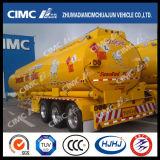 Cimc camion-citerne d'essence d'alliage d'aluminium de Huajun exporté