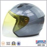 ロイヤルブルーの開いた表面オートバイまたはスクーターのヘルメット(OP206)