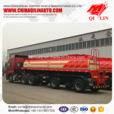 3 Eixos 18cbm Sulfuric Acid Transport Tanker Semi-Trailer