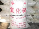 亜鉛塩化物の乾燥したセル、98%Min亜鉛塩化物