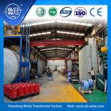 transformador de potência Dry-Type da distribuição do baixo ruído 11kv refrigerado a ar