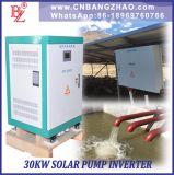 99.6% Inversor solar trifásico eficiente da bomba 40kw de MPPT para 3 o motor da bomba da fase 40HP com saída pura da onda de seno