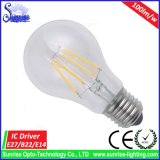 De E27 6W LED Fliament de bulbo de la luz bulbo incandescente en lugar de otro