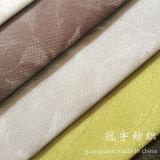 Le tissu mou de la meilleure qualité de velours de polyester avec la fleur a gravé en relief