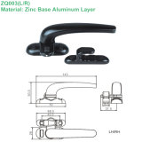 Todo o Zinc 7 Shaped Handle para Door & Window com Is09001 (ZQ003)