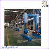 Linha de produção expulsando do fio plástico de alta velocidade