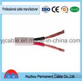 câble d'alimentation flexible plat Rvvb de fil électrique de 2*0.75mm/2*1mm/2*1.5mm