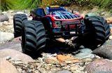 Участвовать в гонке тележка изверга маштаба 4WD электрическая безщеточная RC 1:10