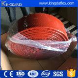 La chemise de fibres de verre avec l'incendie de revêtement caoutchouc siliconé gaine des prix