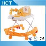 Caminhante plástico do bebê de China Hebei mini com música e luz