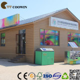 Compuesto de madera y plástico de paredes exteriores (TH-10)