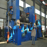 Máquina de dobra universal da placa do rolo superior hidráulico para o rolamento do metal