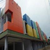 China hizo pared del edificio el precio exterior ACP de la hoja de la decoración ACP para el revestimiento de la pared