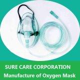 Masque à oxygène médical jetable de nébuliseur pour l'adulte