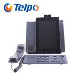Telefono del video del IP del fornitore di fabbricazione dei record Vp9 di chiamata di Telpo 1000