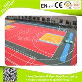 Interruttore di sicurezza di collegamento delle mattonelle pp della pavimentazione di pallacanestro di prezzi bassi
