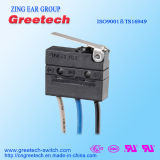 Mini micro interruptor impermeável com fio