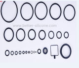 Selos do óleo Wear-Resistant personalizados dos anéis-O da borracha de silicone